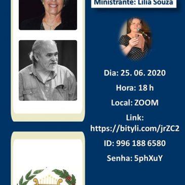 Adélia Woellner e Nilson Monteiro são tema da Oficina Permanente de Poesia