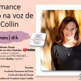 Luci Collin profere palestra na Academia Feminina de Letras
