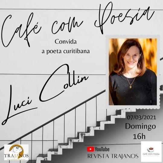 Luci Collin no Café com Poesia