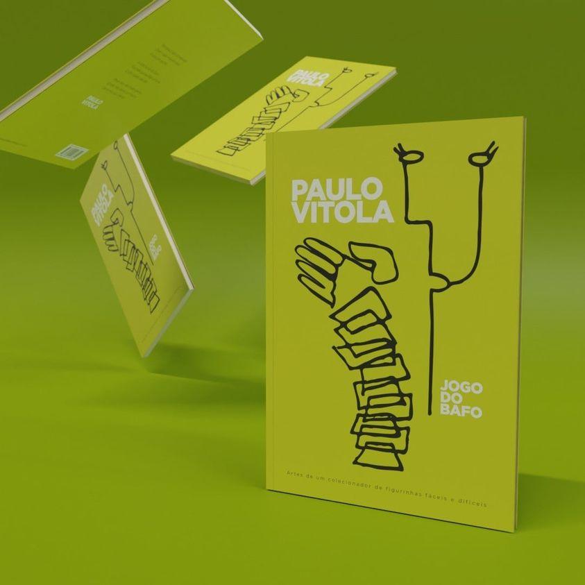 Paulo Vítola lança seu primeiro livro de poemas