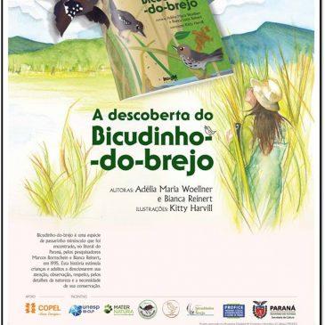 Adélia Woellner lança livro sobre o Bicudinho-do-brejo