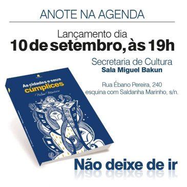 Nilson Monteiro lança livro no dia 10