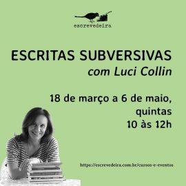 Acadêmica dá curso sobre linguagem subversiva na literatura