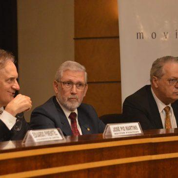 Senador Oriovisto Guimarães palestra em Curitiba