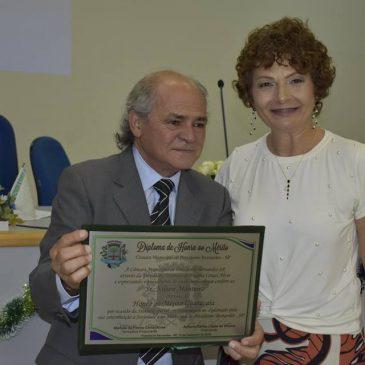 Acadêmico recebe Diploma Garucaia em São Paulo