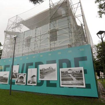 Autorizada licitação de restauro do Belvedere