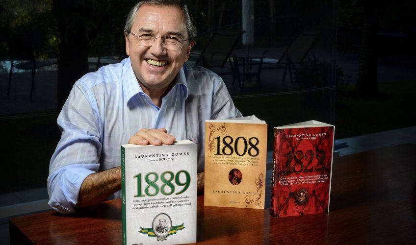 """""""Um Escritor na Biblioteca"""" recebe Laurentino Gomes"""