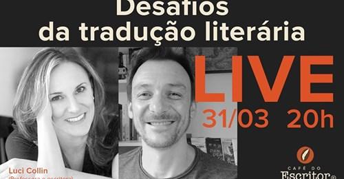 Acadêmica Luci Collin aborda os desafios da tradução literária